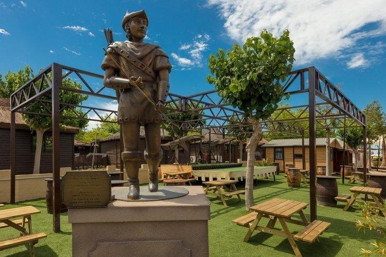 Общие области Парк отдыха Magic Robin Hood Альфас-дель-Пи
