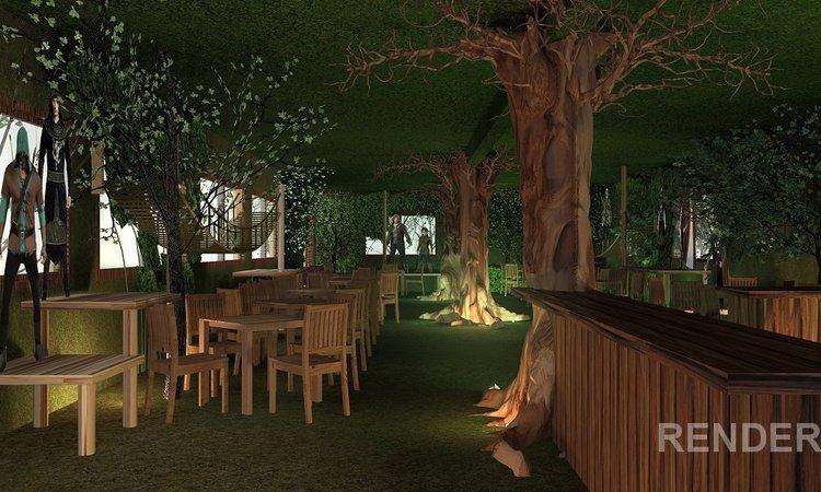 Forest Cafe Парк отдыха Magic Robin Hood Альфас-дель-Пи