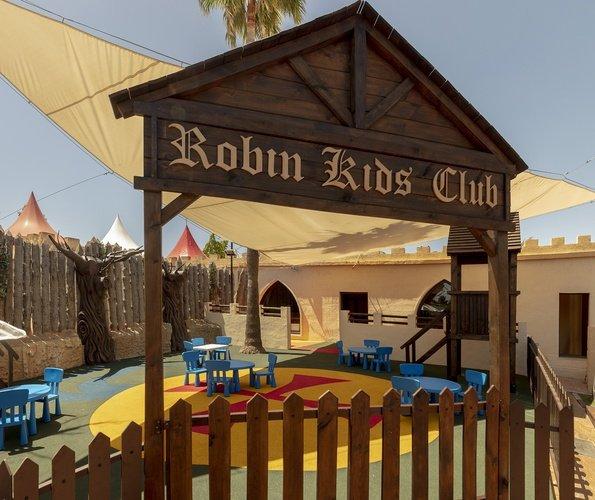 Детская площадка Парк отдыха magic robin hood альфас-дель-пи