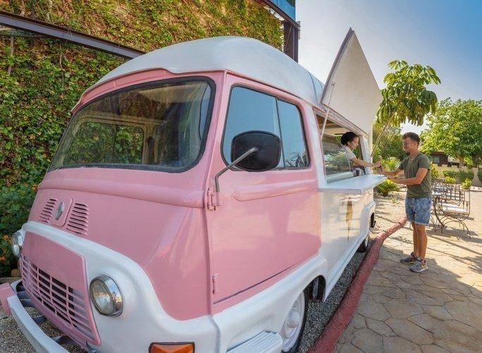 Мороженое Парк отдыха magic robin hood альфас-дель-пи