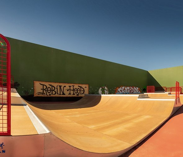 Skatepark Парк отдыха magic robin hood альфас-дель-пи